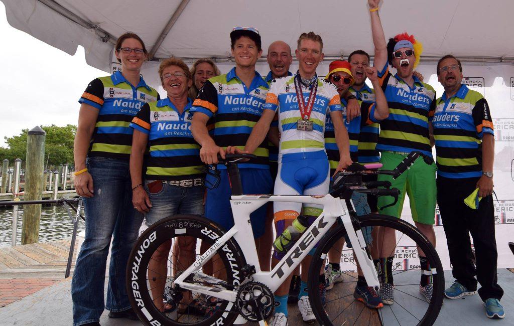 RAAM 2016: Pierre Bischoff gewinnt als erster Deutscher das Race Across America