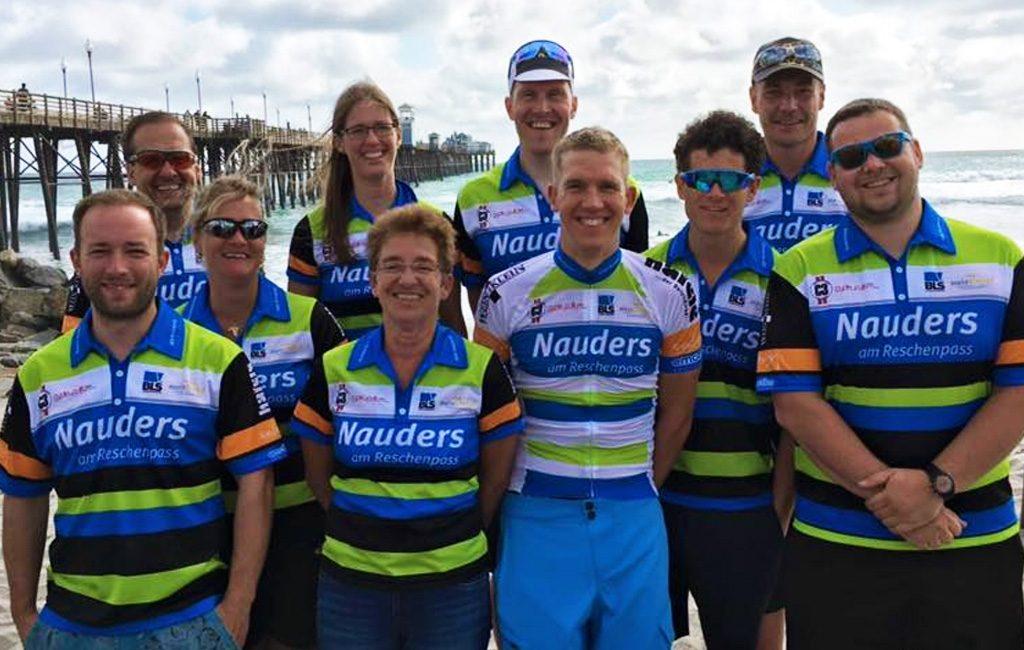 RAAM 2016 Pierre Bischoff und sein Team